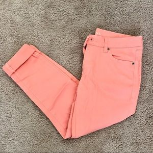 Women's Coral Cropped Pants